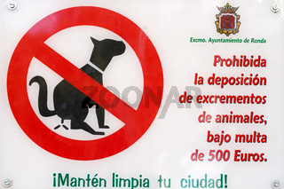 Schilder in Andalusien. 002