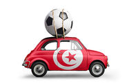 Tunisia football car