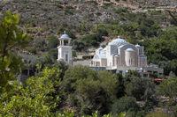 Das Kloster Agios Nikolaos bei Zaros