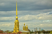 Peter and Paul Cathedral and Fortress Saint Petersberg Russia