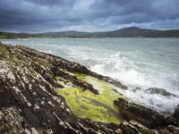 Stormy Weather at Bay of Durrus in Ireland