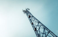 Telecommunications Or Cellphone Radio Tower