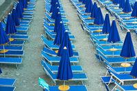 Seaside resort beach