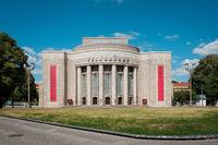 The facade of the Volksbuehne (