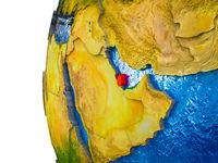 Qatar on 3D Earth