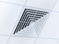 Square air duct