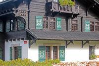 Haus beim Moorgebiet im Slavkovský les