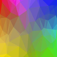 Colorful Polygonal Background. Rumpled Triangular Pattern. Low Poly Texture. Mosaic Modern Design. Origami Style