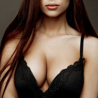 beauty torso girl with big breasts