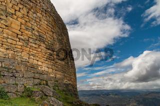 kuelap ruins in the amazon region of Peru