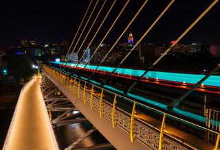 Halic Metro Bridge in Istanbul
