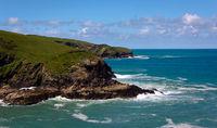 Tintagel Kuestenstreifen- 2 - Cornwall - England