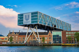 Unilever building, Rotterdam