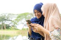 Muslim Teenagers Social media