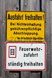 Schilder im Allgaeu. 006