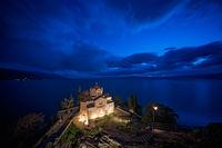 Sveti Jovan Kaneo Church at night