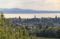 Blick über Lindau, Bodensee