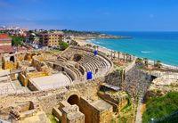 Tarragona römisches Amphitheater in Spanien - Tarragona  roman amphitheatre in Spain
