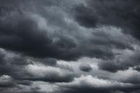 Black dramatic sky