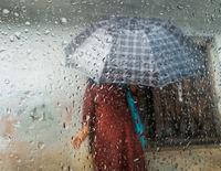 Monsoon season in Kathmandu, Nepal