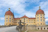 Moritzburg castle in Saxony