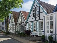 Häuser in der Alexandrinenstraße in Rostock Warnemünde