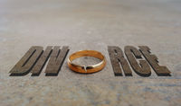 Gold ring divorce