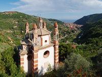 Panoramaausblick Kirche