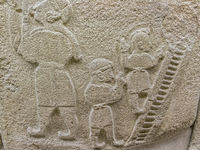 Climbing Stairs from the legend of Gilgamesh Ankara Turkey