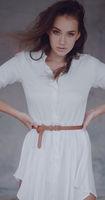 Fashion portrait of beautiful girl