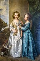 Philadelphia and Elizabeth By Van Dyck, The Hermitage, St. Petersburg