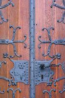 Schmiedeeiserne Kirchentür