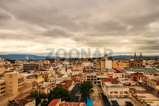 Landscape view of the city of Salta, Argentina