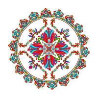 Hungarian folk motif 7