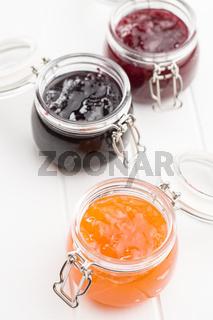 Tasty fruity jam.