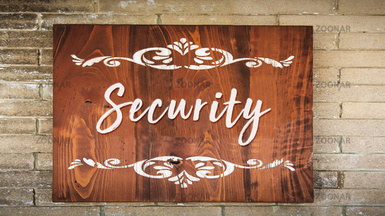 Street Sign to Security