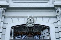 Basel, Blaues Haus, Maske