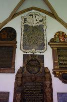 Basler Muenster, Grabplatten
