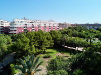 Residential district in Torrevieja resort city. Spain