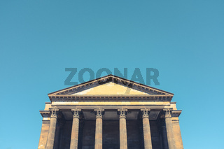 Greek Style Architecture With Columns