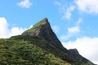 Rempart Mountain, Tamarin, Riviere Noire, Mauritius.