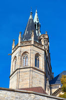 Cathedral and Severi-Church in Erfurt in east Germany