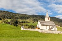 Church of St. Veit in the Pragser valley
