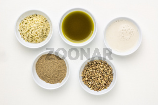 hemp seed superfood collection