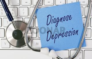 Diagnose Depression Arzt Arztbesuch