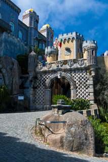 Palace of Sintra in central Portugal