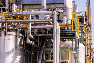 pipeline Chemical oil factory plant