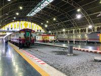 Main Train station in Bangkok Hua Lamphong