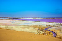 Multicolored fields for evaporation of water