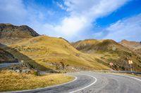 Transfagarasan mountain road